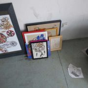 Lot de tableaux en sable création artisanale