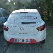SEAT IBIZA, véhicule de société de 08/2011, GO, 5CV, 106745 km